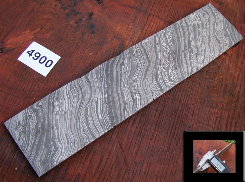 Bar-4300-03(4400) Damascus Alien Billet
