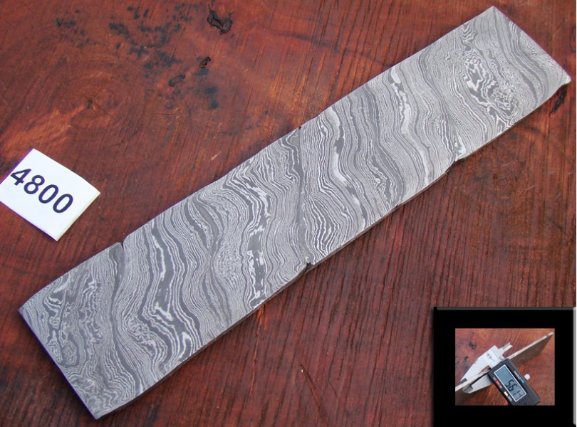 BAR-4300-30(4400)Damascus Alien Billet